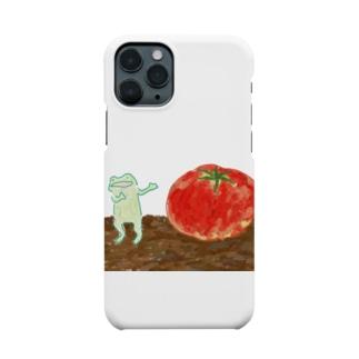 とまとをじまん かえる Smartphone cases
