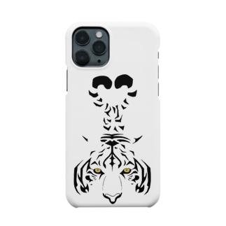 二叉の虎(LuTi) Smartphone cases