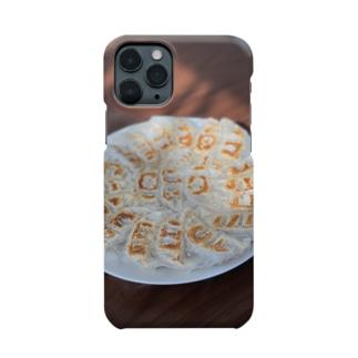 餃子スマホケース Smartphone cases