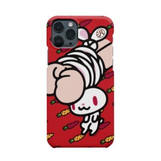 【各20点限定】汎用うさぎ(1/red) Smartphone cases