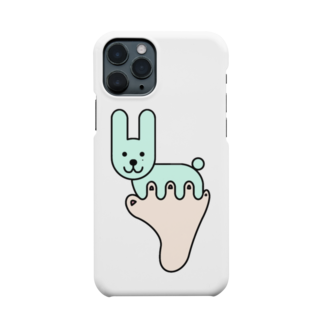 あしゆびふれんずのあしゆびうさぎ Smartphone cases