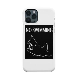 遊泳禁止 Smartphone cases