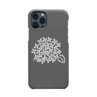 あじさい モノトーン Smartphone cases