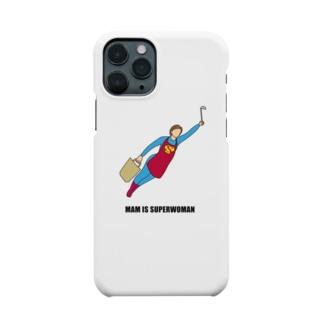 スーパーウーママン Smartphone cases