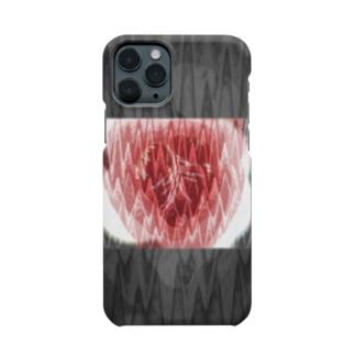 脈拍149 ver.黒重 Smartphone cases
