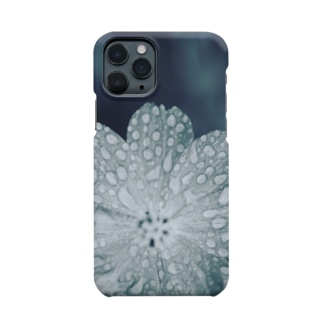 雨の日のコスモス Smartphone cases