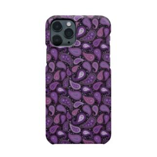 ペイズリー柄 パープル Smartphone Case