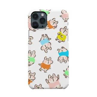 しろくまだらけ Smartphone cases