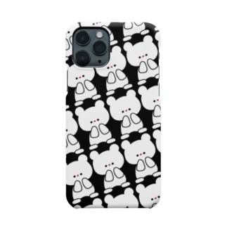 黒くまちゃん Smartphone cases