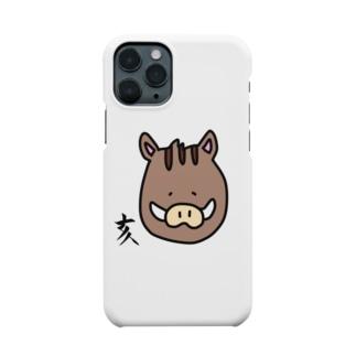 あおい¨̮♪の亥 いのしし Smartphone cases