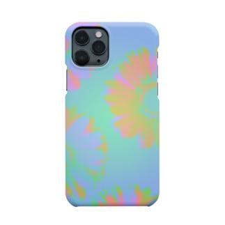 五十嵐灯のサーモフラワー Smartphone cases