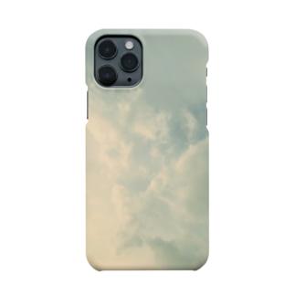 軌跡の結晶の淡い空〜現実 Smartphone cases