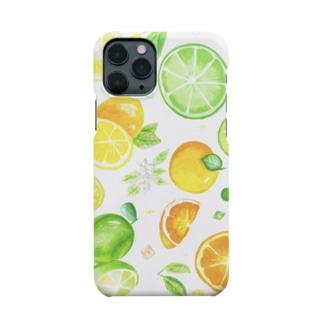 ayumiのシトラスフルーツ Smartphone cases