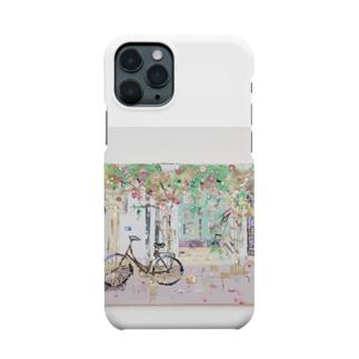 コペンハーゲンの小径  Smartphone cases