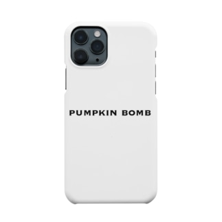 shibababaaanのpumpkin bomb Smartphone cases
