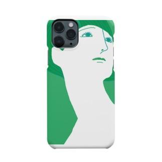 mya-mya=MIYA JUNKO's shop 02のBeautiful neck Smartphone Case