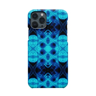 Spices Invader cyan Smartphone cases