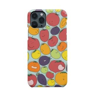 ぷかぷかトマト Smartphone cases