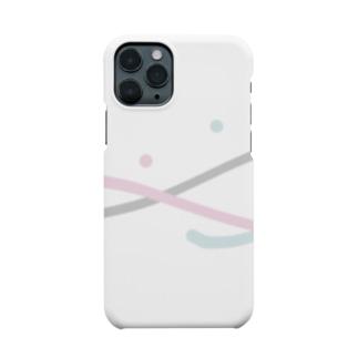 ニュアンススマイルiPhoneケース Smartphone cases