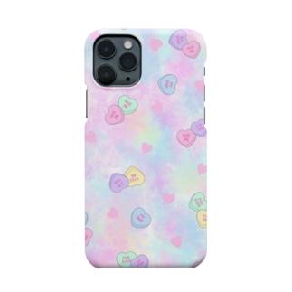 ファンシーキャンディーハーツ Smartphone cases