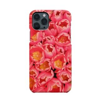 ピンクの花束 Smartphone cases
