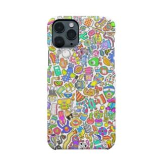 しきつめ怪獣 Smartphone cases