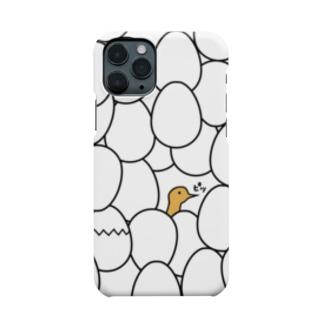 卵とヒナ Smartphone cases