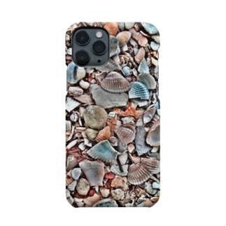 Tabbiesの貝殻ぎっしり Smartphone cases