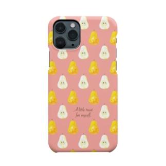 ラ・フランス in pink Smartphone cases