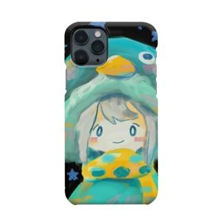 ぺんぎんの防寒具 Smartphone cases