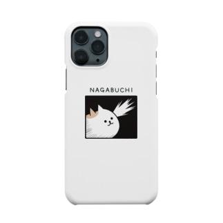 DECORの寸胴猫 ながぶち 気づきver. Smartphone cases