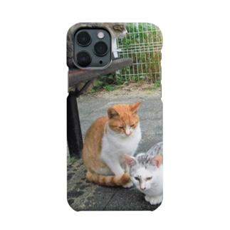 にゃんズ Smartphone cases