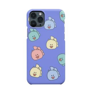 とりきちがいっぱい(ぱーぷる) Smartphone cases