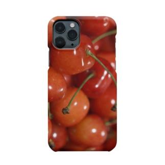 やまもりさくらんぼちゃん Smartphone cases