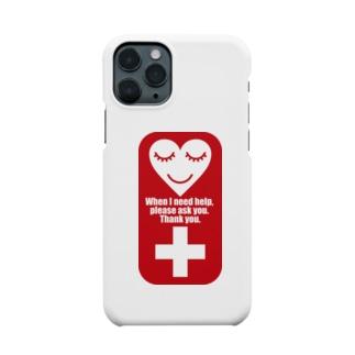 介助を必要としています Smartphone cases
