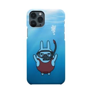 擦れうさぎダイビング Smartphone cases