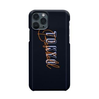 プロ野球 東京オレンジ デザイン オリジナルスマホケース Smartphone cases