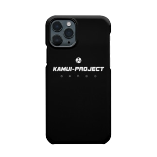 KAMUI-Project :[simple logo white] Smartphone cases