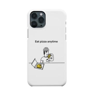 いつでもピザiPhoneケース Smartphone cases