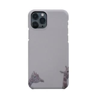 Fog and giraffe Smartphone cases
