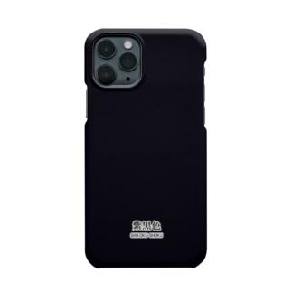 和色コレクションVer-2:紫黒色(しこくしょく) Smartphone cases