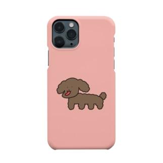 しゃくれたトイプードル Smartphone cases