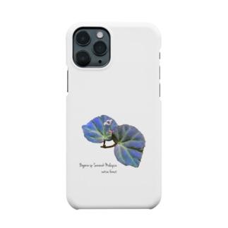 ベゴニアsp.マレーシア サラワク州産(Begonia sp. Sarawak Malaysia) Smartphone cases
