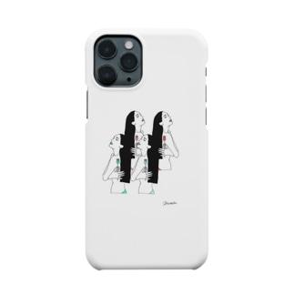 全部わたし。 Smartphone cases