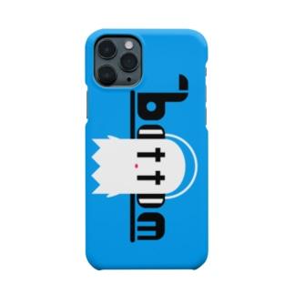 最底辺お化けスマホケース(ブルー) Smartphone cases