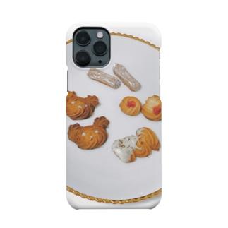 絞り出すのは勇気、ではなくクッキー! Smartphone cases