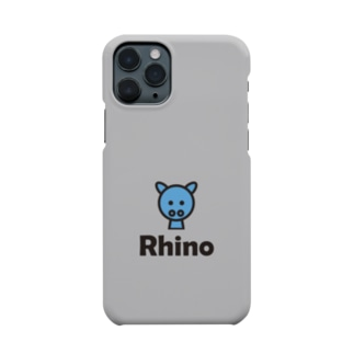 サイ(グレー) Smartphone cases