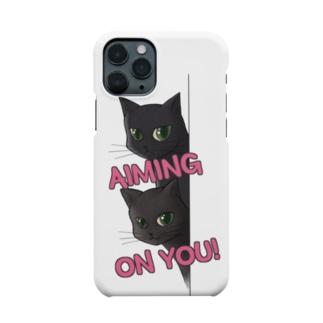 気になる視線 Smartphone cases