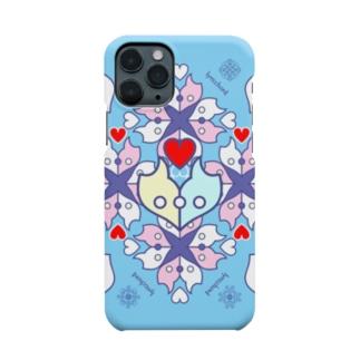 浪漫花-ROMANKA-/アクア/スマホケース Smartphone cases