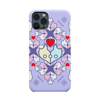浪漫花-ROMANKA-/ラベンダー/スマホケース Smartphone cases